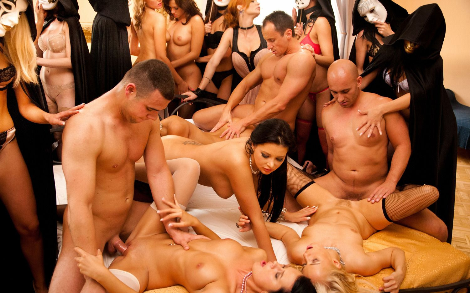 mature femdom young male party